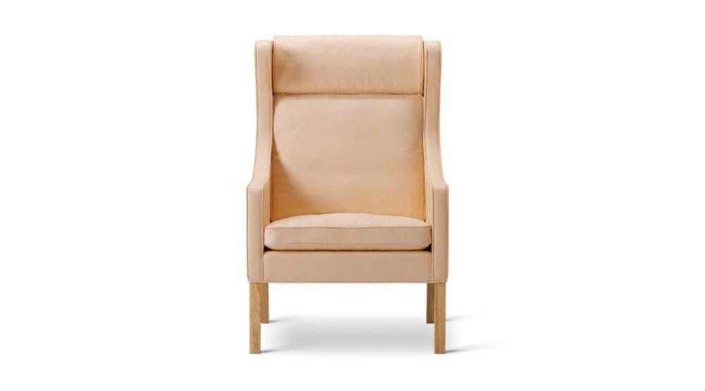 Lænestol Wing chair 2204 Børge Mogensen Fredericia indbo