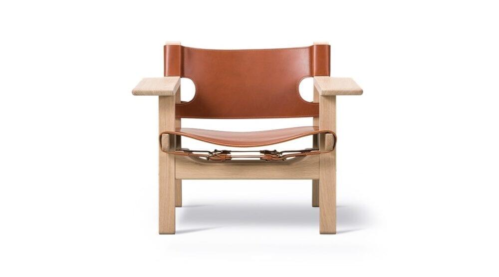 Den spanske stol lænestol BM2226 Børge Mogensen Fredericia Furniture