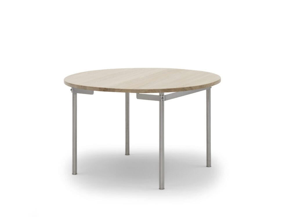 Spisebord CH388 stålstel Wegner Carl Hansen Indbo