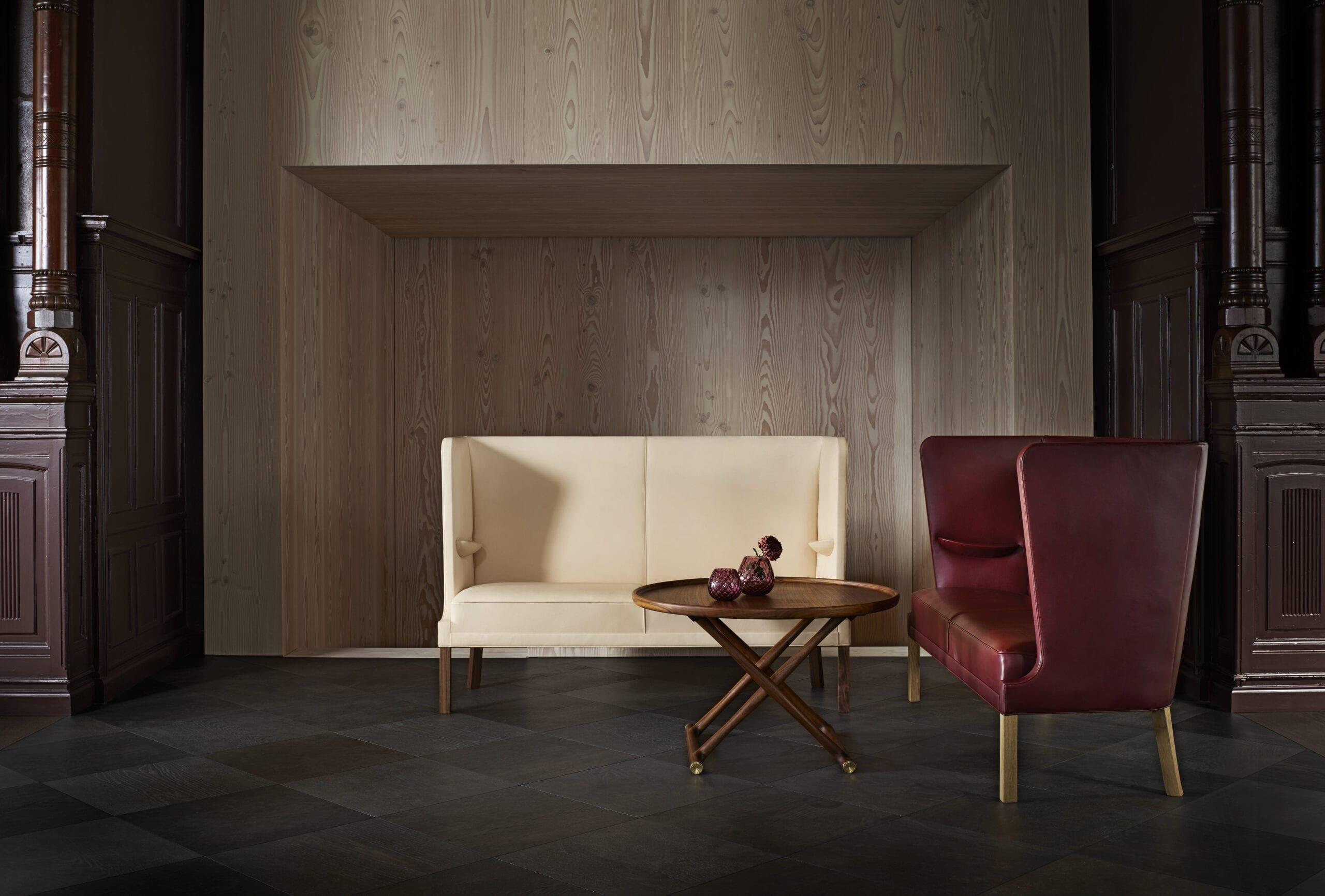 Coupé sofa FN436 Frits Henningsen Carl Hansen Indbo