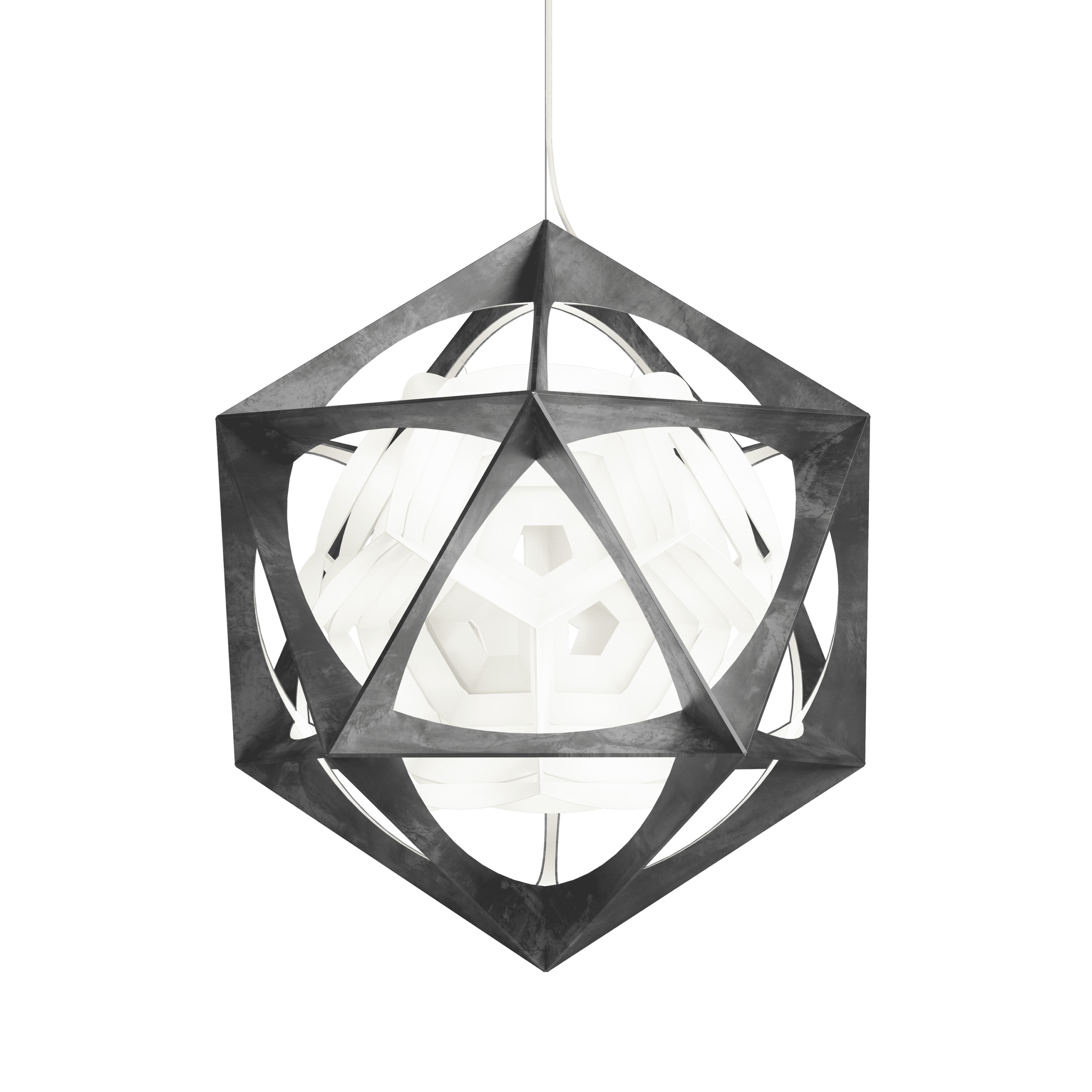 Pendel OE Quasi Light Louis Poulsen design Olafur Eliasson Indbo