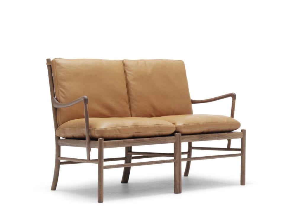 Colonial sofa OW124 Ole Wanscher Carl Hansen Indbo