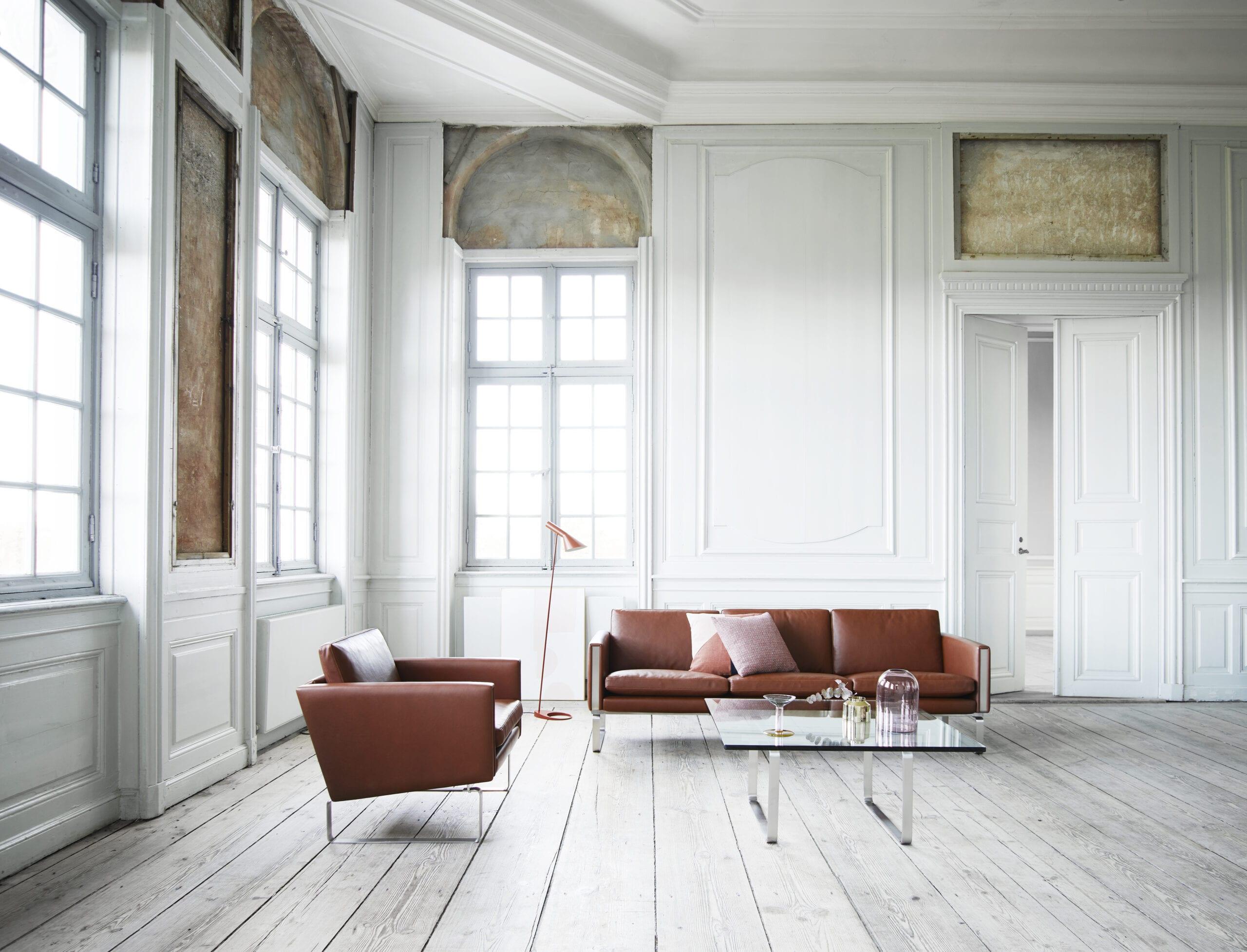 Stol Sofa CH100 serie Wegner Carl Hansen Indbo