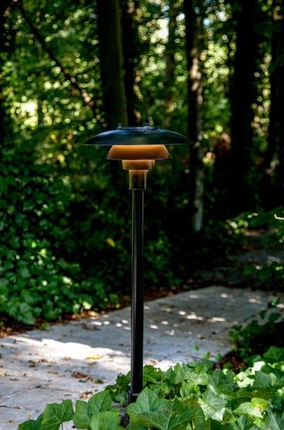 PH 3-2½ Pullert udendørs belysning Poul Henningsen louis poulsen indbo