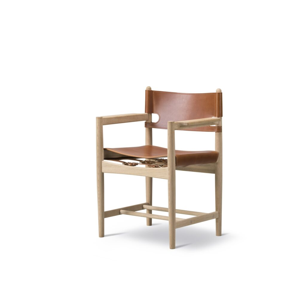 Jagtstol spisestuestol BM3238 Børge Mogensen Fredericia Furniture