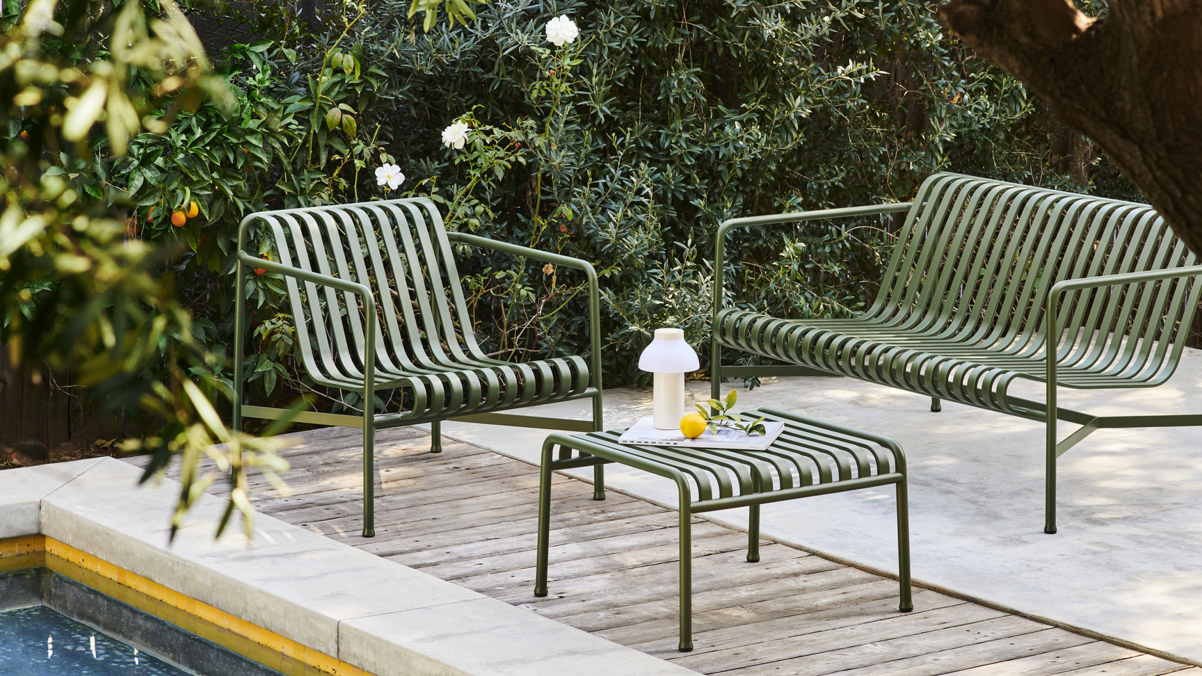 Palissade lounge stol sofa Bouroullec Hay