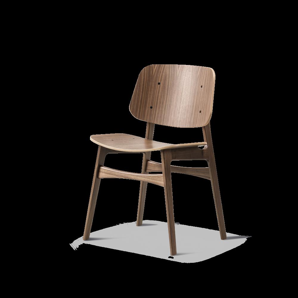 Søborg stol 3050 Børge Mogensen Fredericia indbo
