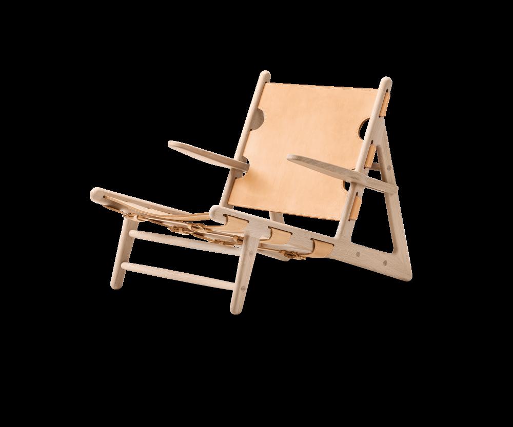 Jagtstolen lænestol BM2229 Børge Mogensen Fredericia Furniture