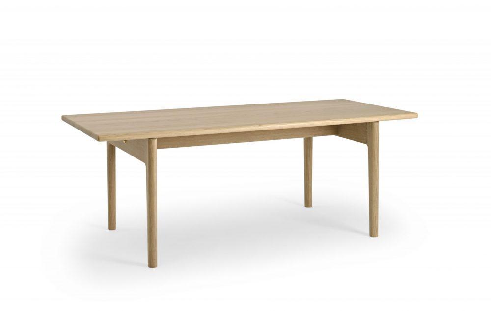 Sofabord GE15 Hans J. Wegner Getama træbord med ben